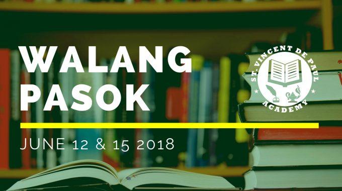 Svdpa Bulletin For 2018 2019 Academic School Year St Vincent De